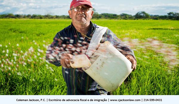 Trabalhadores Estrangeiros com Visto Agrícola H-2A em Fazendas Americanas Durante a Emergência Nacional do Covid-19
