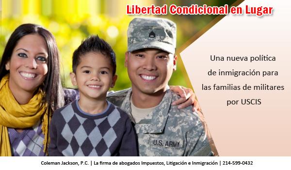 Libertad Condicional en Lugar