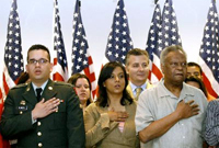 Oath for naturalization