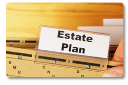 Estate plan using trust