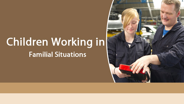 Children Working in Familial Situations