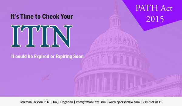 Check Your ITIN because it could be Expired or Expiring Soon