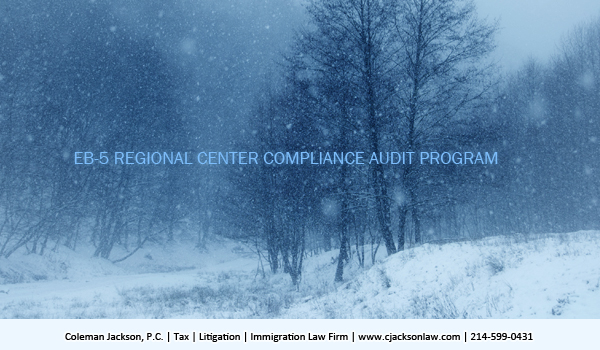EB-5 Regional Center Compliance Audit Program