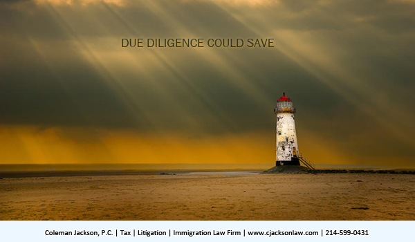 Due diligence could possibly save an EB-5 immigrant investor