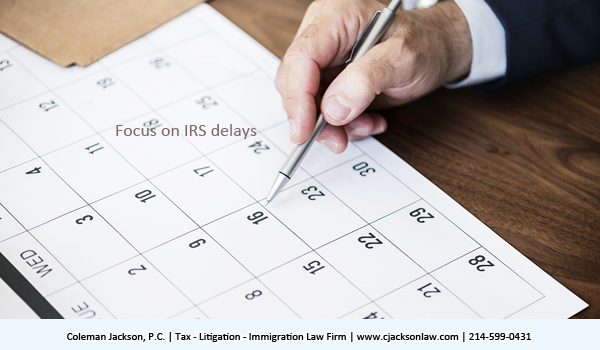 Focus on IRS delays.  The IRS must be given the opportunity to return the erroneously assessed or collected tax, penalty or interest