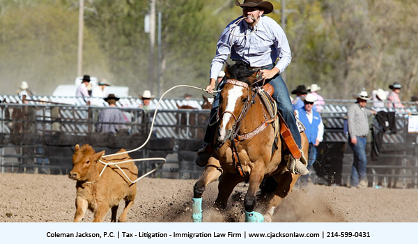 Federal Taxation and Cutting Horses: It's Not Just About The Horses