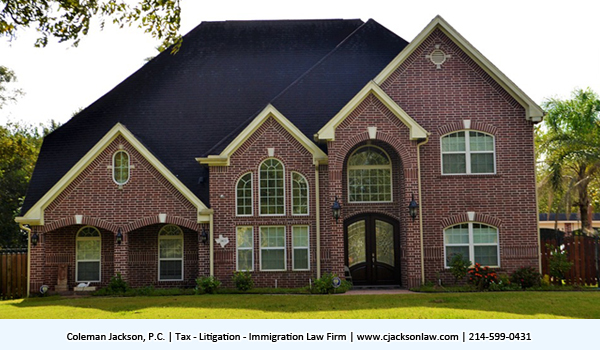 IRS levy property