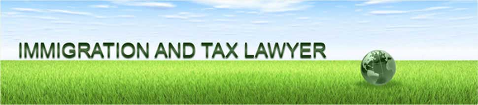 Immigration And Tax Lawyer